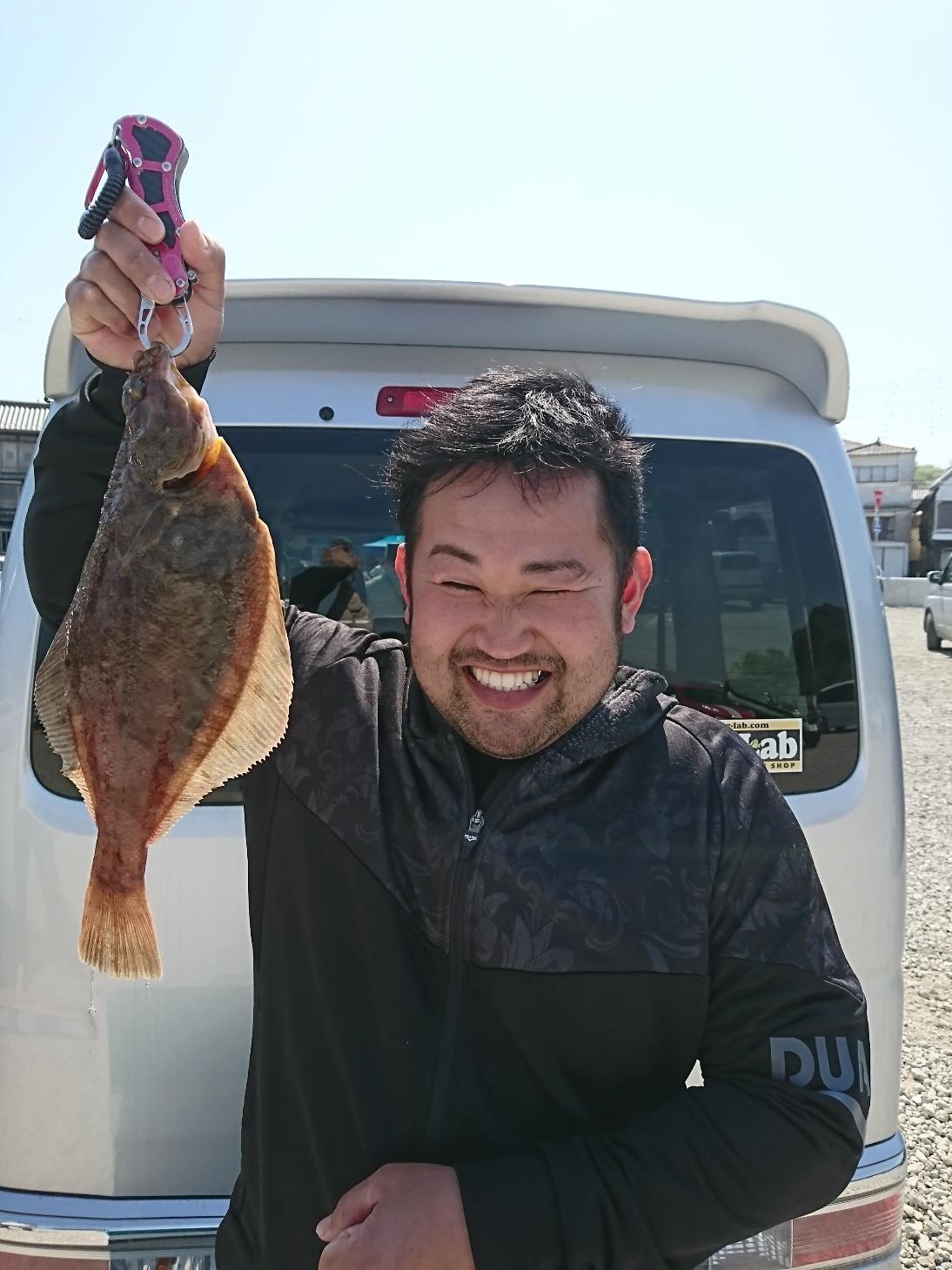 4・22 本日、トビヌケ釣具カレイフェスティバル。